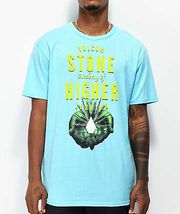 Volcom Higher Learning Light Blue T-Shirt