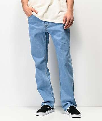 Volcom Kinkade jeans de mezclilla de lavado claro