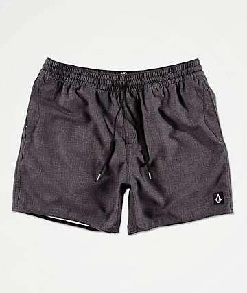 Volcom Lido Volley shorts de baño grises