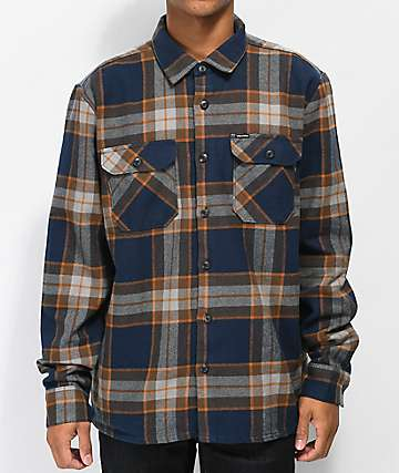 Volcom Randower Melindigo Flannel Shirt