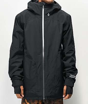 Volcom Resin Gore-Tex chaqueta de snowboard negra