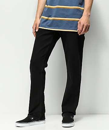 Volcom Solver Black Rinser Jeans