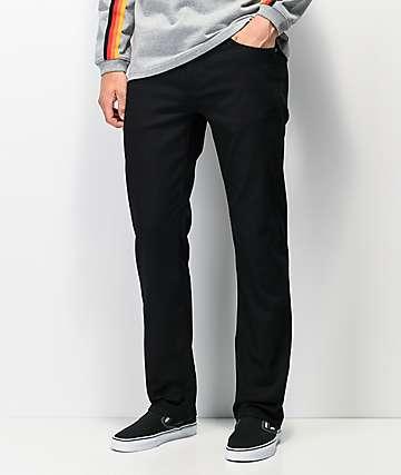 Volcom Solver jeans de mezclilla negra