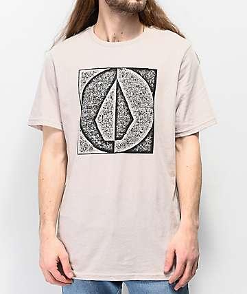 Volcom Stamp Divide camiseta natural