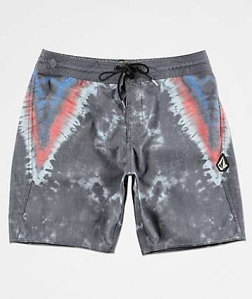 Volcom Stoney V Dye Navy Board Shorts