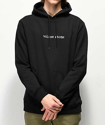 Volcom Supply Stone Black Hoodie