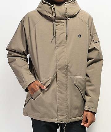 Volcom Synthwave 5K chaqueta de snowboard caqui