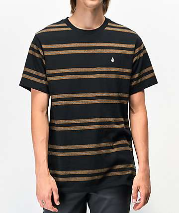Volcom Tehas Black T-Shirt