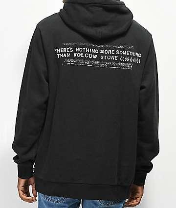 Volcom Thrifter Black Hoodie