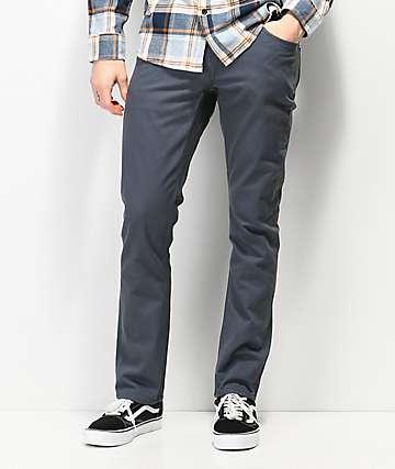 Volcom Vorta Slub Blue Denim Jeans