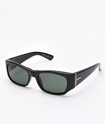 Von Zipper Juvie Black Gloss & Vintage Grey Sunglasses