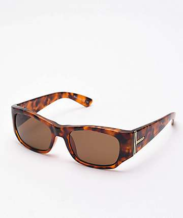 Von Zipper Juvie Vintage Tort Gloss & Bronze Sunglasses