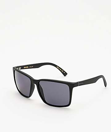 Von Zipper Lesmore Black & Satin Grey Polarized Sunglasses