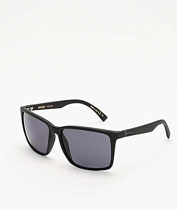 Von Zipper Lesmore gafas de sol polarizadas en negro y gris satinado