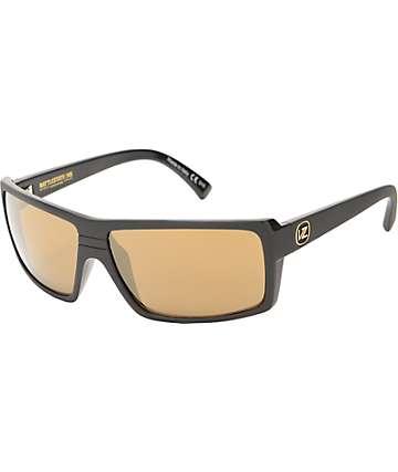Von Zipper Snark Battlestation Black & Gold Sunglasses