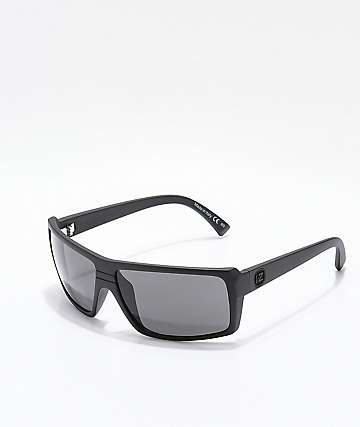 Von Zipper Snark Black Satin Sunglasses