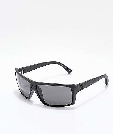 Von Zipper Snark Black Satin Sunglasses