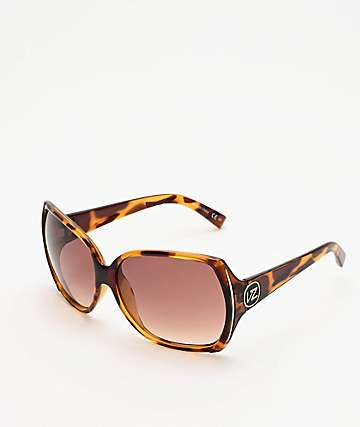 Von Zipper Trudie Tortoise & Bronze Gradient Sunglasses