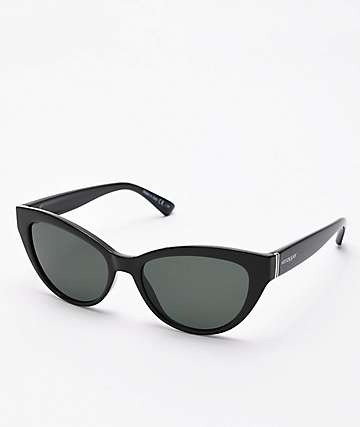 Von Zipper Ya Ya Black Gloss & Grey Sunglasses