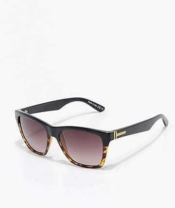 VonZipper Booker Muddled Tortoise & Black Sunglasses