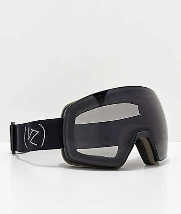 VonZipper Satelite Wildlife Black Satin Snowboard Goggles