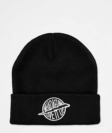 WHADAFUNK Live It Up Black Beanie