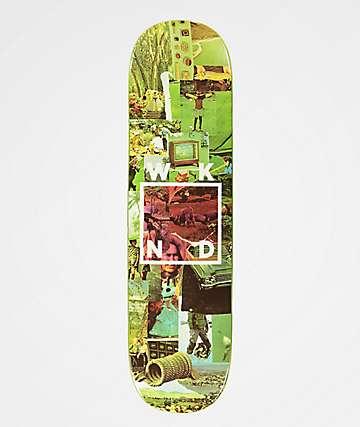 "WKND Collage Logo Green 8.25"" Skateboard Deck"