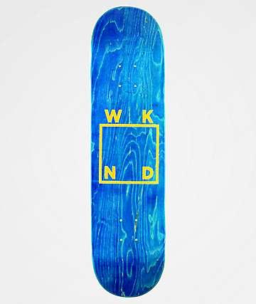 "WKND Glitter Square Logo 8.0"" Skateboard Deck"