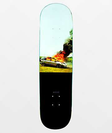 "WKND Van On Fire 8.25"" Skateboard Deck"