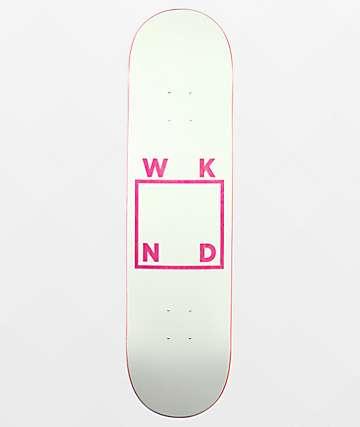 "WKND White Logo 8.0"" Skateboard Deck"