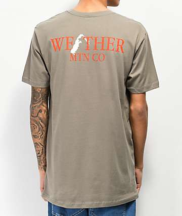 WeatherMTN Summit Dark Grey T-Shirt