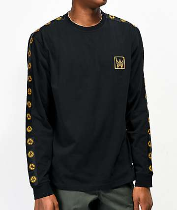 Welcome Chalice Black & Gold Long Sleeve Knit T-Shirt