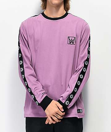 Welcome Chalice Purple & Black Long Sleeve T-Shirt