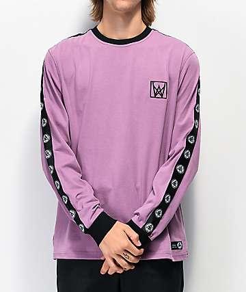Welcome Chalice camiseta de manga larga morada y negra