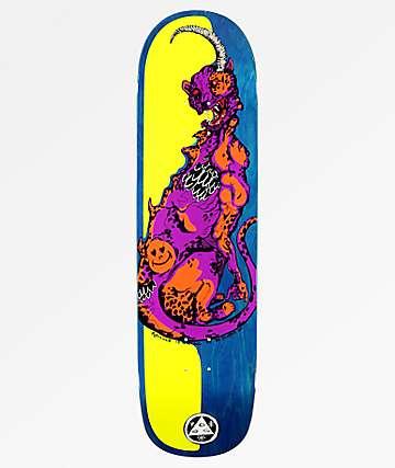 "Welcome Cheetah On Big Bunyip 8.5"" tabla de skate"