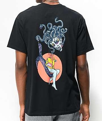 Welcome Gorgon camiseta negra