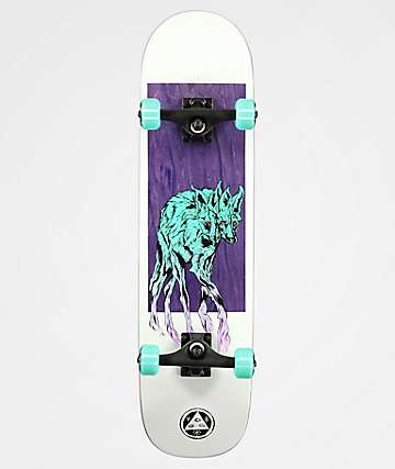 """Welcome Maned Wolf On Bunyip 8.0"""" Skateboard Complete"""