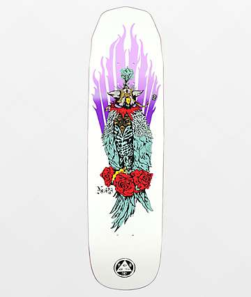 "Welcome Nora Vasconcellos Peregrine On Wicked Princess 8.12"" Skateboard Deck"