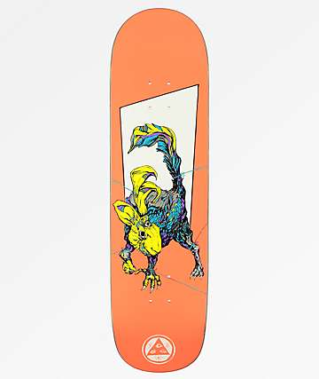 "Welcome Pack Rabbit On White Lightning 8.5"" Skateboard Deck"