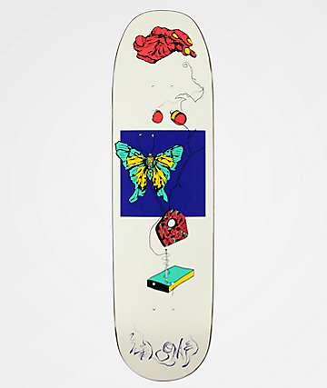 """Welcome Puppet Master On White Lightning 8.75"""" Skateboard Deck"""