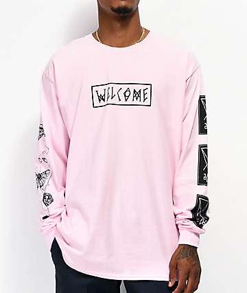 Welcome Puppet Master camiseta rosa de manga larga