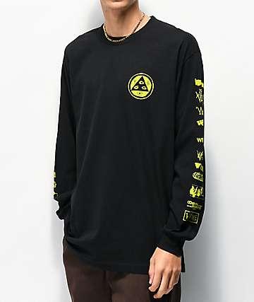 Welcome Sponsed camiseta negra de manga larga