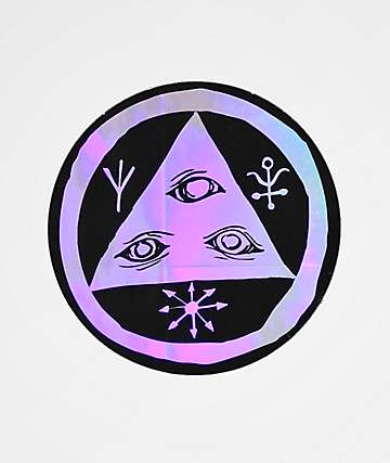 Welcome Talisman Holographic Sticker