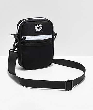 Welcome Talisman bolso de hombro negro y blanco
