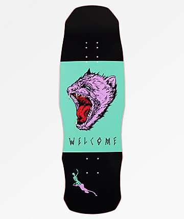 "Welcome Tasmanian Angel On Dark Lord 9.75"" tabla de skate"