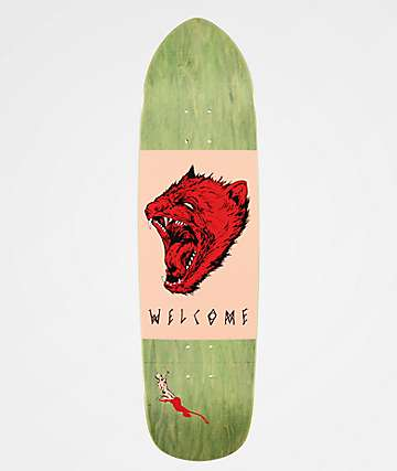 "Welcome Tasmanian Angel On Squidbeak 8.6"" Skateboard Deck"