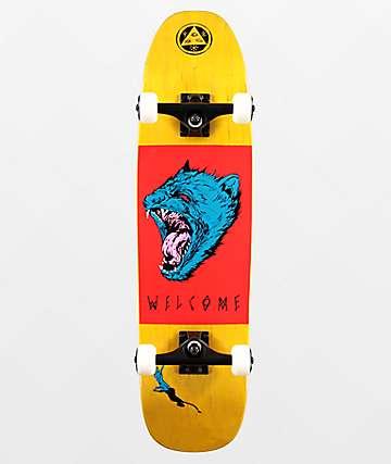 "Welcome Tasmanian Angel on Nimbus 3000 8.25"" Skateboard Complete"