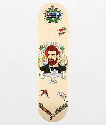 "Willy x Dappa Dan's 8.0"" Skateboard Deck"