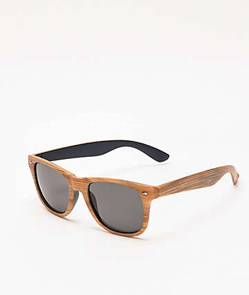 Woodway Blonde & Black Wayfarer Sunglasses