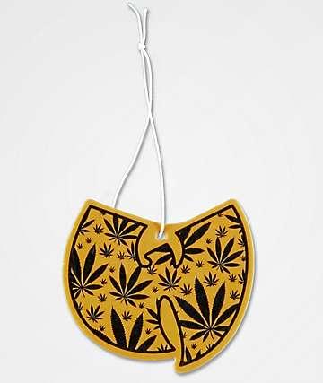 Wu-Tang Leaf Pattern Air Freshener